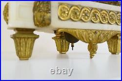 Sublime PENDULE carquois LOUIS XVI en marbre et bronze doré, d'époque XIXe