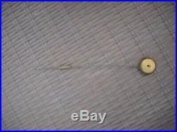 Superbe Pendule Bronze Dore Epoque Restauration Mouvement A Fil