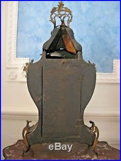 Superbe Très Grand Cartel et son cul de lampe d'époque 18 ème