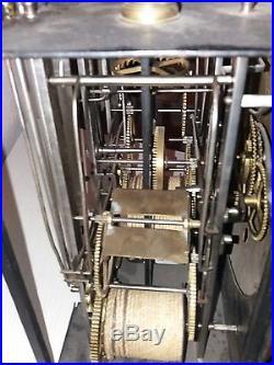 Superbe et RARE mécanisme comtoise 4 cloches datant du 18éme