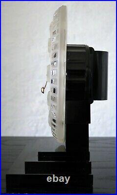 Superbe pendule ATO art déco electric clock lalique (no bulle)