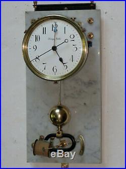 Superbe pendule electrique BRILLIE master clock (no Ato, Lepaute)