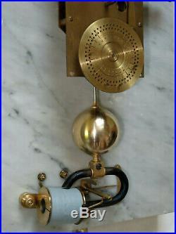 Superbe pendule mère BRILLIE master clock (no lepaute, ato)