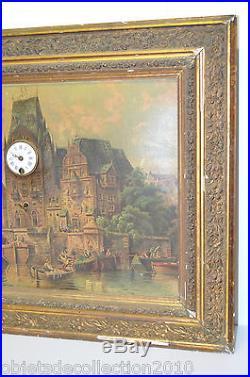 TABLEAU HORLOGE MUSICALE BOITE A MUSIQUE CHROMO PENDULETTE XIXe Réf 07011612 -44