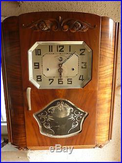 Trés Beau Et Ancien Carillon Ou Horloge Huit Marteaux Carrez Odo France Art Déco