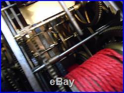Tete d'horloge comtoise/regulateur trotteuse echappement a chevillesa reparer