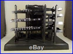 Time Machine ball clock kinetic horloge billes cinétique 90's + box