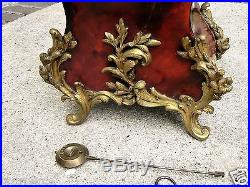 Trés Beau et grand cartel 19eme époque napoléon III garniture bronze pendule