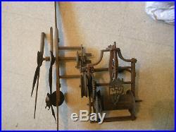 Trés ancien bras aiguille d horloge de village ou monument 18éme 19éme