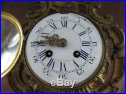 Très belle pendule horloge murale cartel