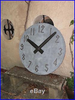 Véritable horloge de clocher, mécanisme Brillié, cadran édifice, clock church