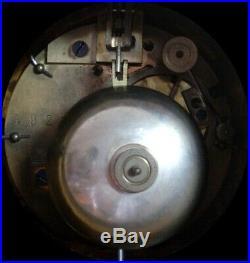 XIXè S, Grand Cartel Pendule Sévres polychrome aux 2 griffons, big Sèvres clock