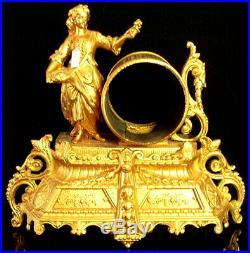 XIXè S, Superbe LOT de 6 CORPS de Cartel Pendule dont 4 Signées SANS MOUVEMENTS