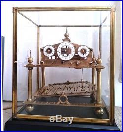 XXXXL Congreve Horloge A Bille Geante Modele Tres Rare (avec Video)